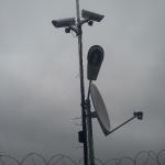 Protectie perimetrala cu camere video